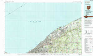 Cleveland North topographical map