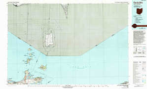 Put-In-Bay topographical map