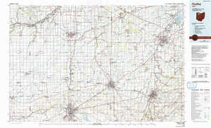 Findlay topographical map