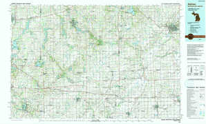 Adrian topographical map