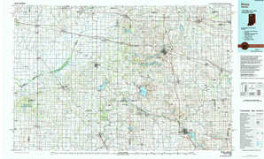 Knox 1:250,000 scale USGS topographic map 41086a1