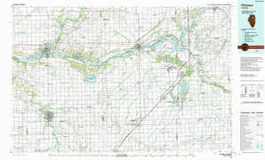 Ottawa topographical map