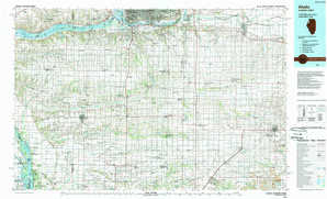 Aledo 1:250,000 scale USGS topographic map 41090a1