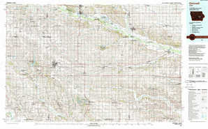 Grinnell topographical map