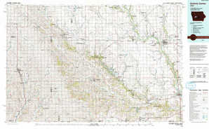 Guthrie Center topographical map