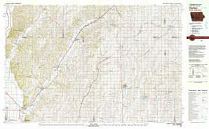 Harlan topographical map