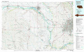 Fremont topographical map