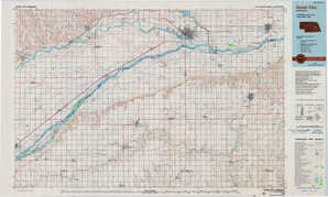 David City topographical map