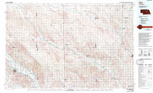 Ord topographical map