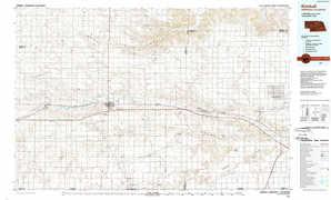 Kimball topographical map