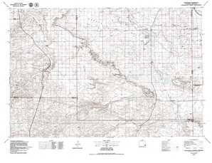 Chugwater topographical map