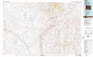 Rock River topographical map