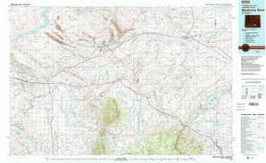 Medicine Bow topographical map