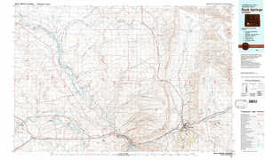 Rock Springs topographical map