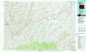 Evanston topographical map