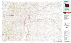 Kemmerer topographical map