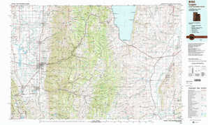Logan topographical map
