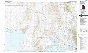 Tremonton topographical map
