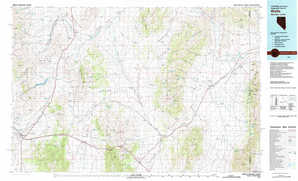 Wells topographical map