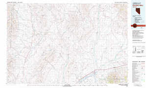 Double Mountain topographical map