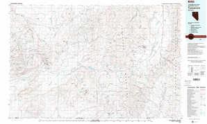 Tuscarora topographical map