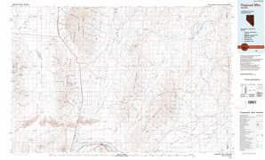 Osgood Mountains topographical map
