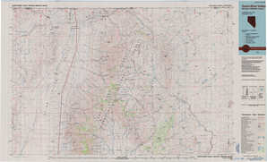 Quinn River Valley topographical map