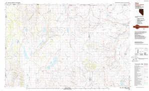 Vya topographical map