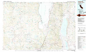 Cedarville topographical map