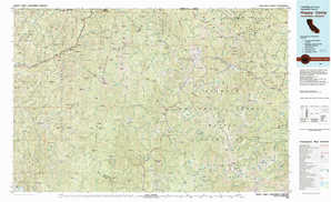 Happy Camp topographical map
