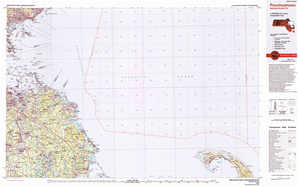 Provincetown topographical map