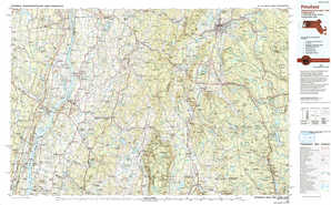 Pittsfield topographical map