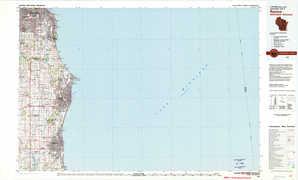 Racine topographical map