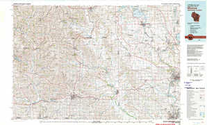 Monroe topographical map
