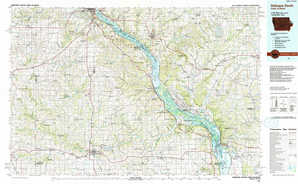 Dubuque South topographical map