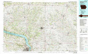 Dubuque North topographical map