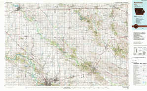 Anamosa topographical map