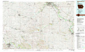 Marshalltown 1:250,000 scale USGS topographic map 42092a1