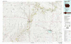 Storm Lake topographical map