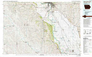 Sioux City South topographical map