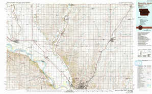 Sioux City North topographical map