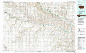 Atkinson topographical map