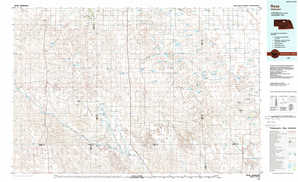 Rose topographical map