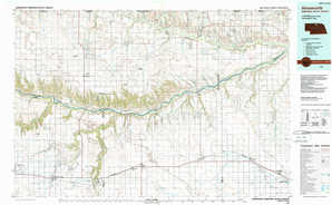 Ainsworth topographical map