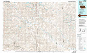 Goose Creek topographical map
