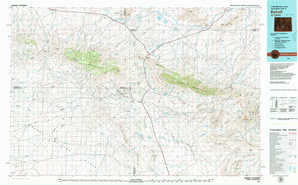 Bairoil topographical map