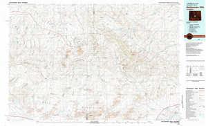 Rattlesnake Hills topographical map