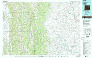 Afton topographical map