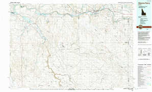 Glenns Ferry topographical map