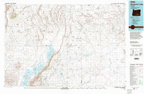 Bluejoint Lake topographical map